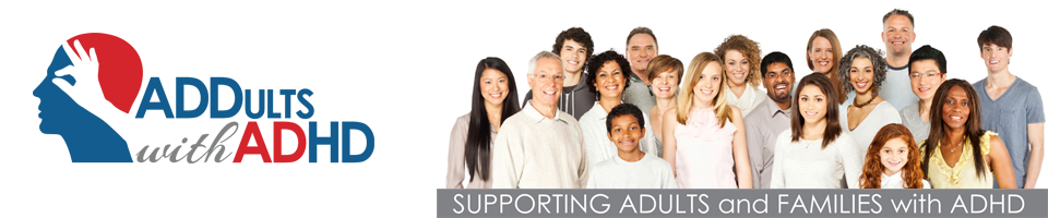 Supporting Adults and Families with ADHD plus Logo