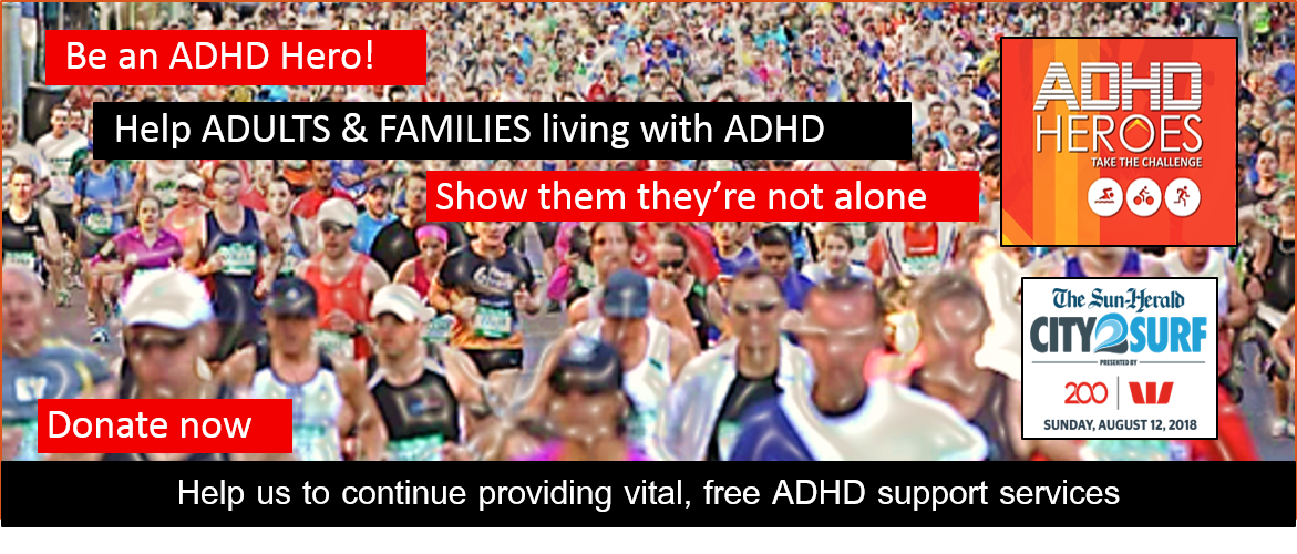 ADHD Heroes Donate to the Team